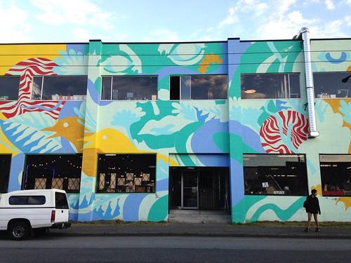 Vancouver Mural Festival - Maker Labs