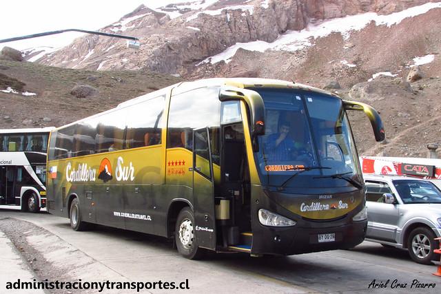 Buses Cordillera Sur | Paso Los Libertadores | Irizar Century - Mercedes Benz / BYDG29