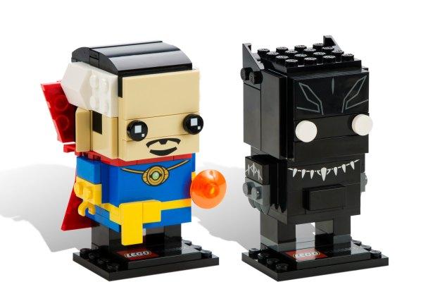 BrickHeadz: Doctor Strange and the Panther