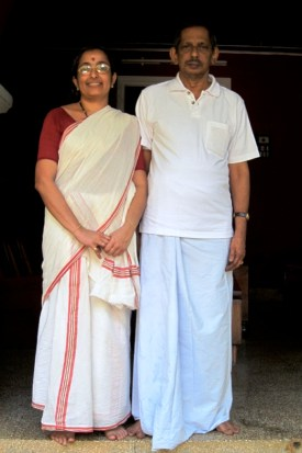 Olappamanna and Sreedevi Damodaran