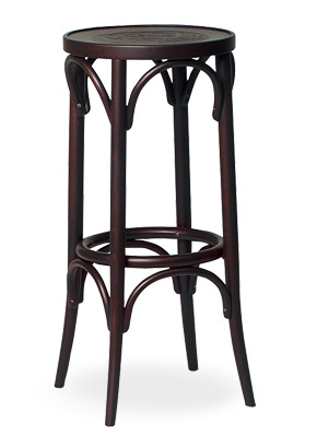 Qitay Backless Bentwood Bar Stool Thonet Bar Stool S57