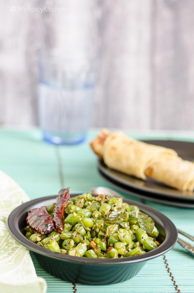 Green beans poriyal myspicykitchen green beans saute poriyal green beans poriyal tamil food tamil cuisine forumfinder Image collections