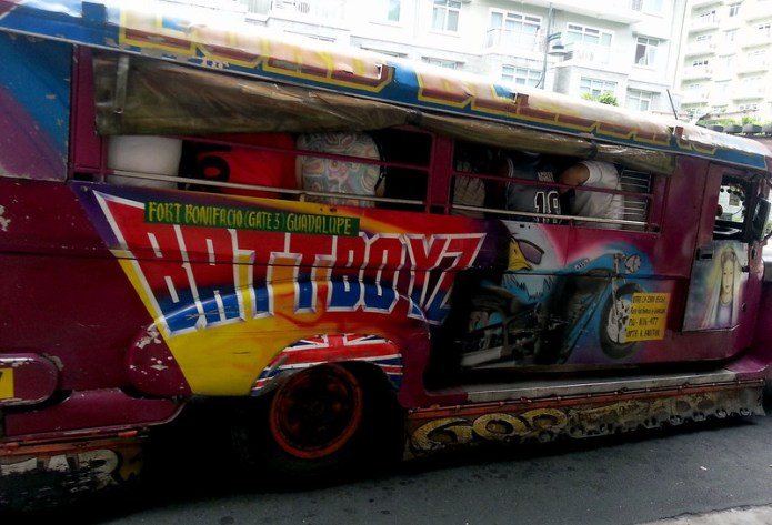 batman jeepney