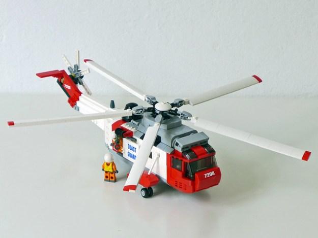 Sikorsky/Westland Sea King Helicopter PF motorized (Coast Guard livery)