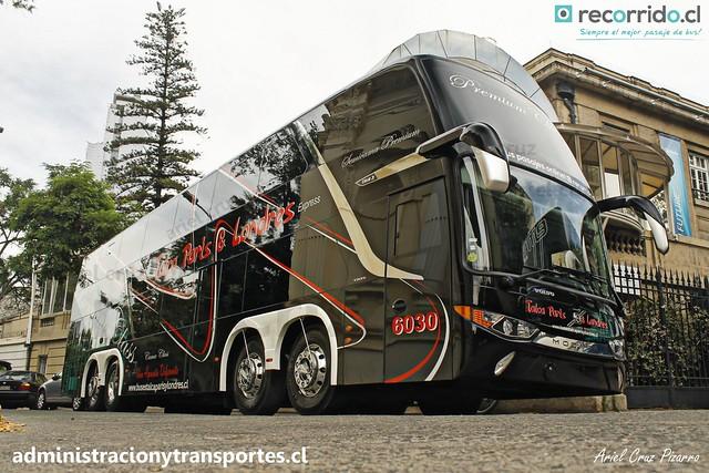 Talca París & Londres N° 6030 | Santiago | Modasa Zeus 3 - Volvo B420R 8x2 / HTRF41