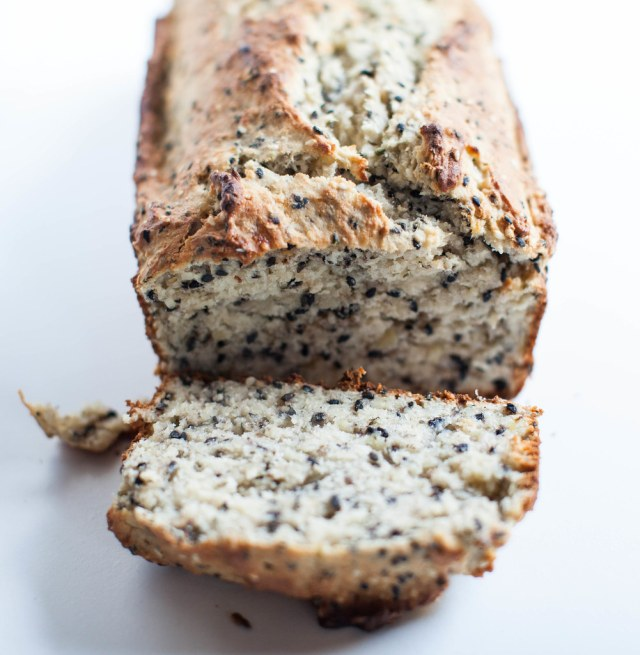 seeded banana bread