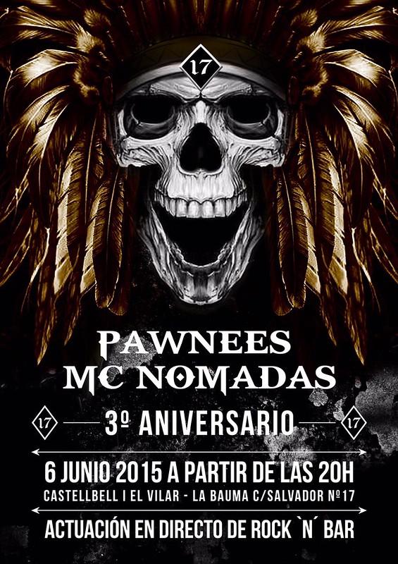 3er. Aniv. Pawnees Nomadas - Castellvell i El Vilar