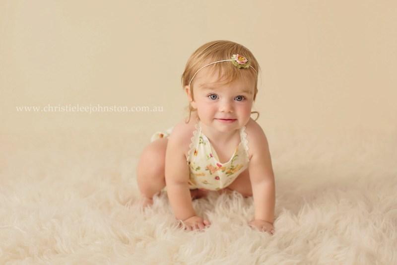 12 month old portrait