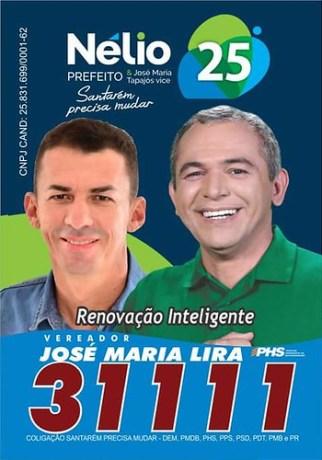 Palanque. José Maria Lira, do PHS, Santarém, Lira