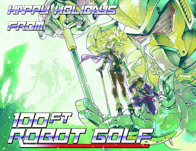 100 ft Robot Golf