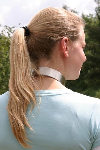 elegant slave collar