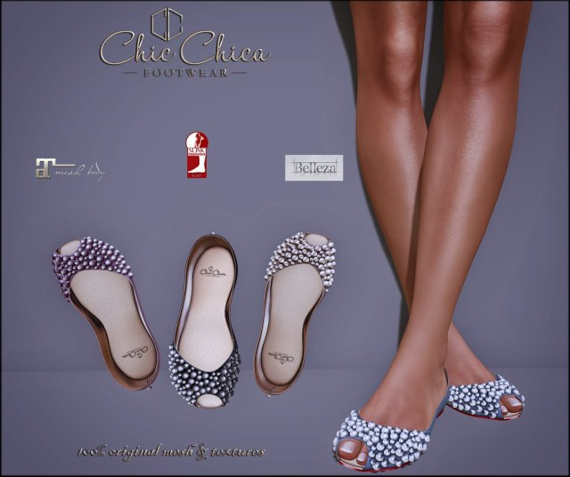 Pearla flats by ChicChica OUT @ Lost&Found