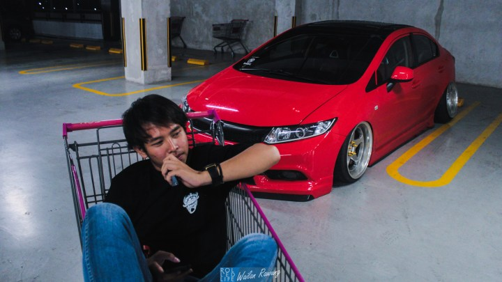 Stance Honda Civic with 326 Power Yabaking-18