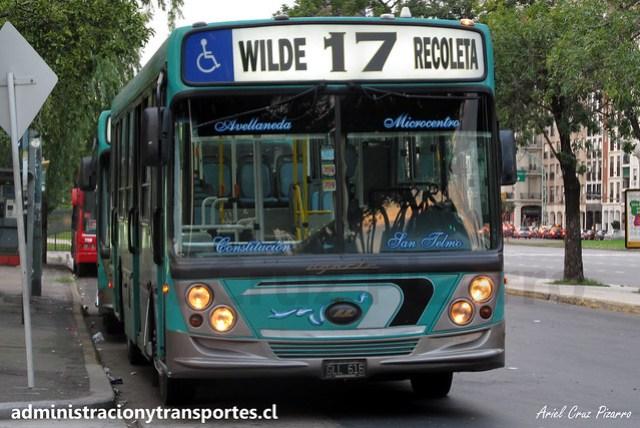 Buenos Aires 17 | Línea 17 | Ugarte - Mercedes Benz / GLL616