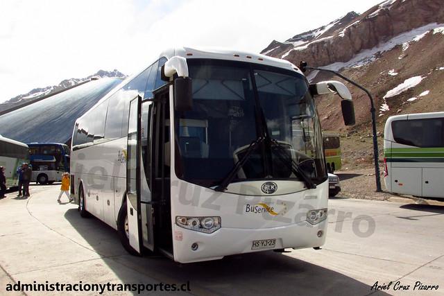 Bus Service | Paso Los Libertadores | Bonluck JXK6115 / HSYJ23