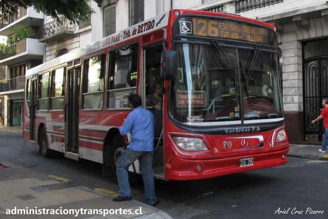 Buenos Aires 126 | Cárdenas | Italbus Tropea - Mercedes Benz / IUX295