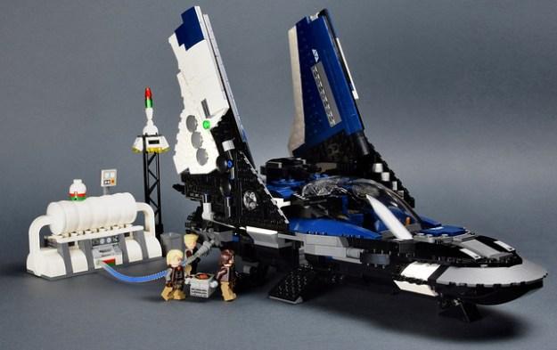 SC-83 Petrel - Landed