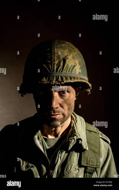 Soldier Suffering Post Traumatic Disorder Stock Photos & Soldier Suffering Post Traumatic ...