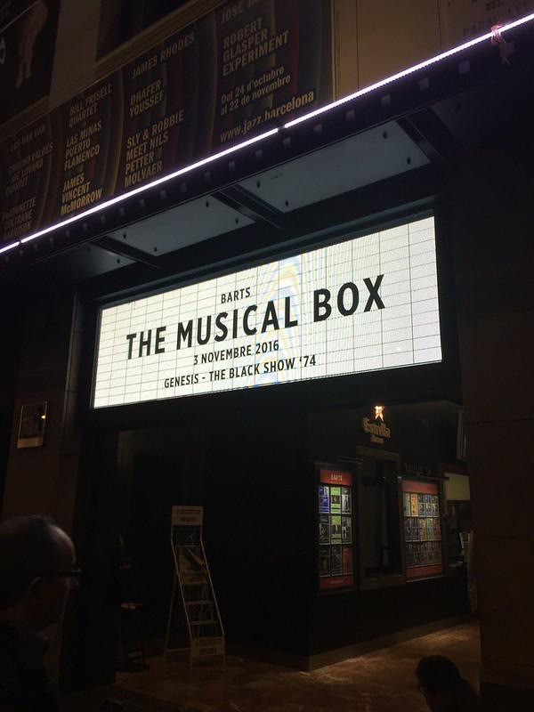 The Musical Box 2016
