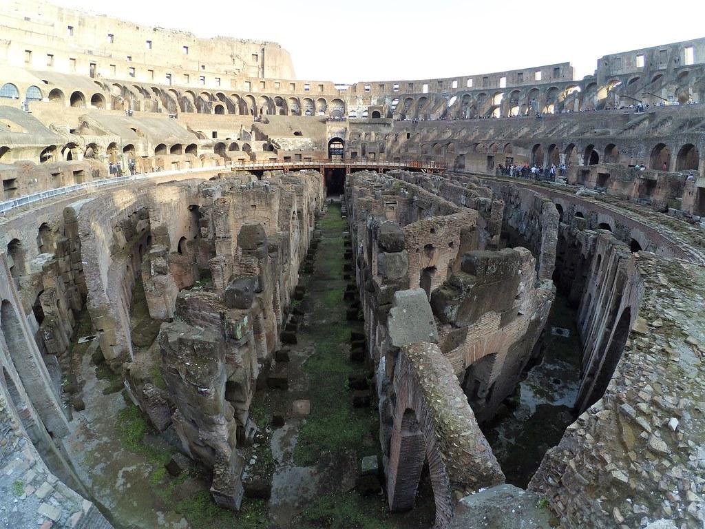 Por dentro do Coliseum