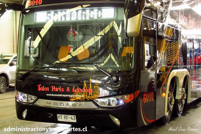 Talca París & Londres N° 6010 | Casa Matriz TPL | Modasa Zeus 3 - Volvo B420R 8x2 / HTRF43