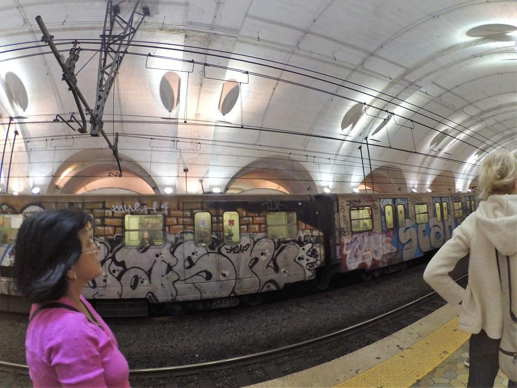 Estação do metrô Termini