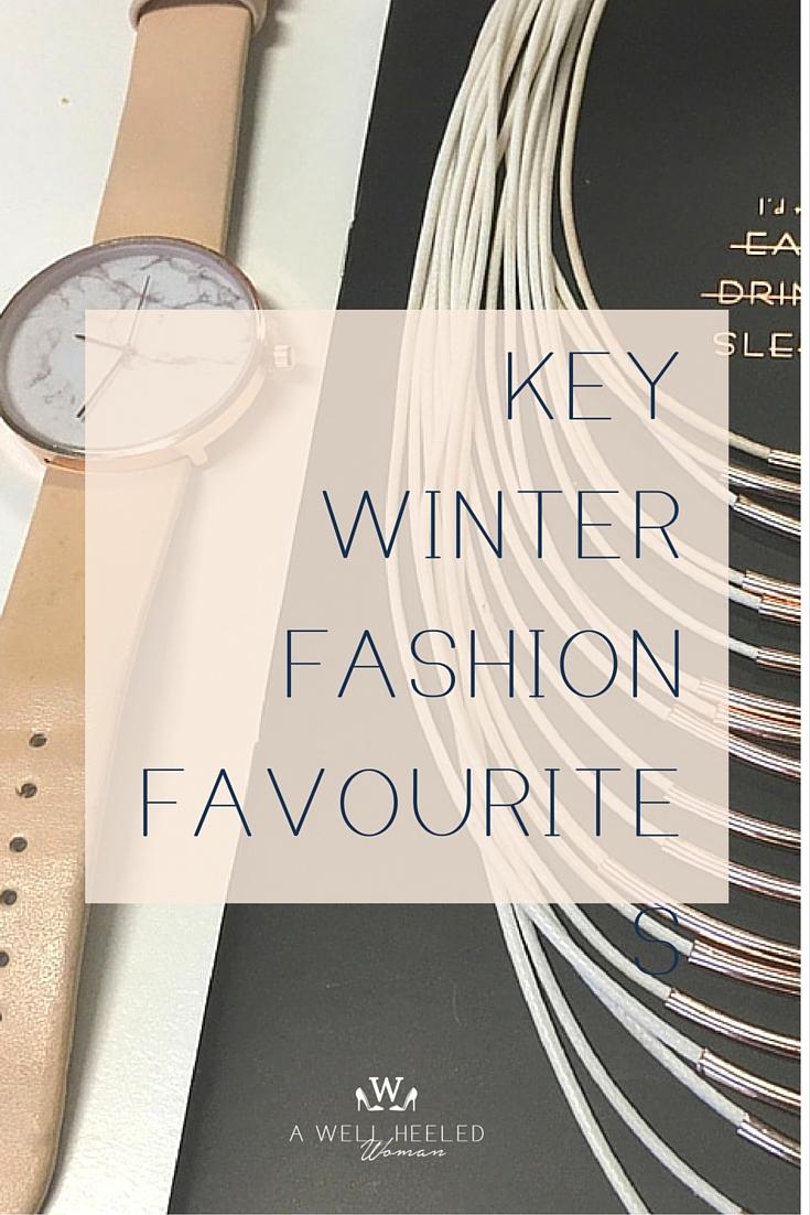 key winter fashion favorite