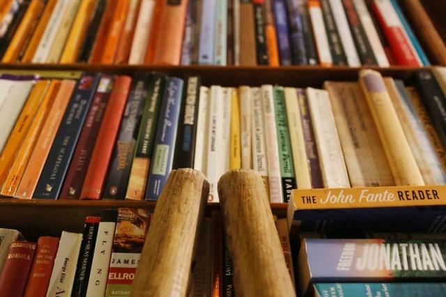 City landmark - The Abbey Bookshop, Rue de la Parcheminerie, Paris