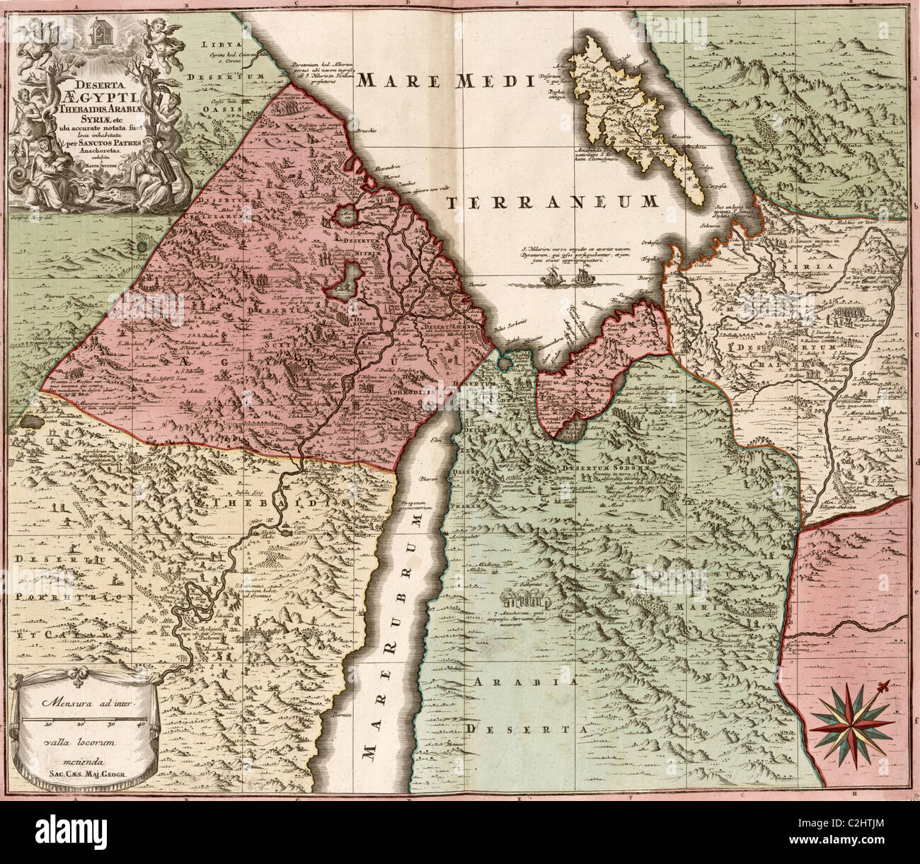Egypt  Syria   Arabia   1700 s Stock Photo  36042572   Alamy Egypt  Syria   Arabia   1700 s