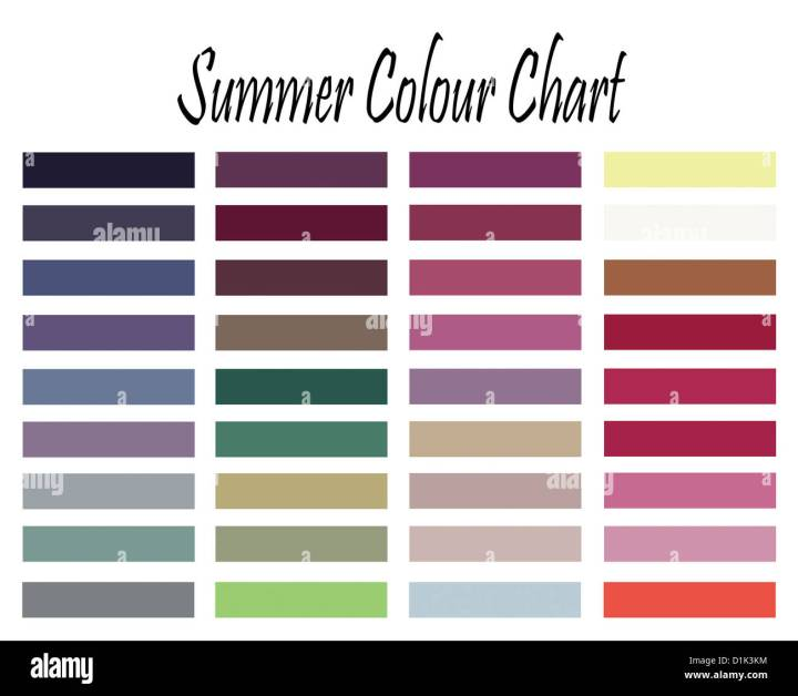 Summer Colors Clothes Find Your Dream