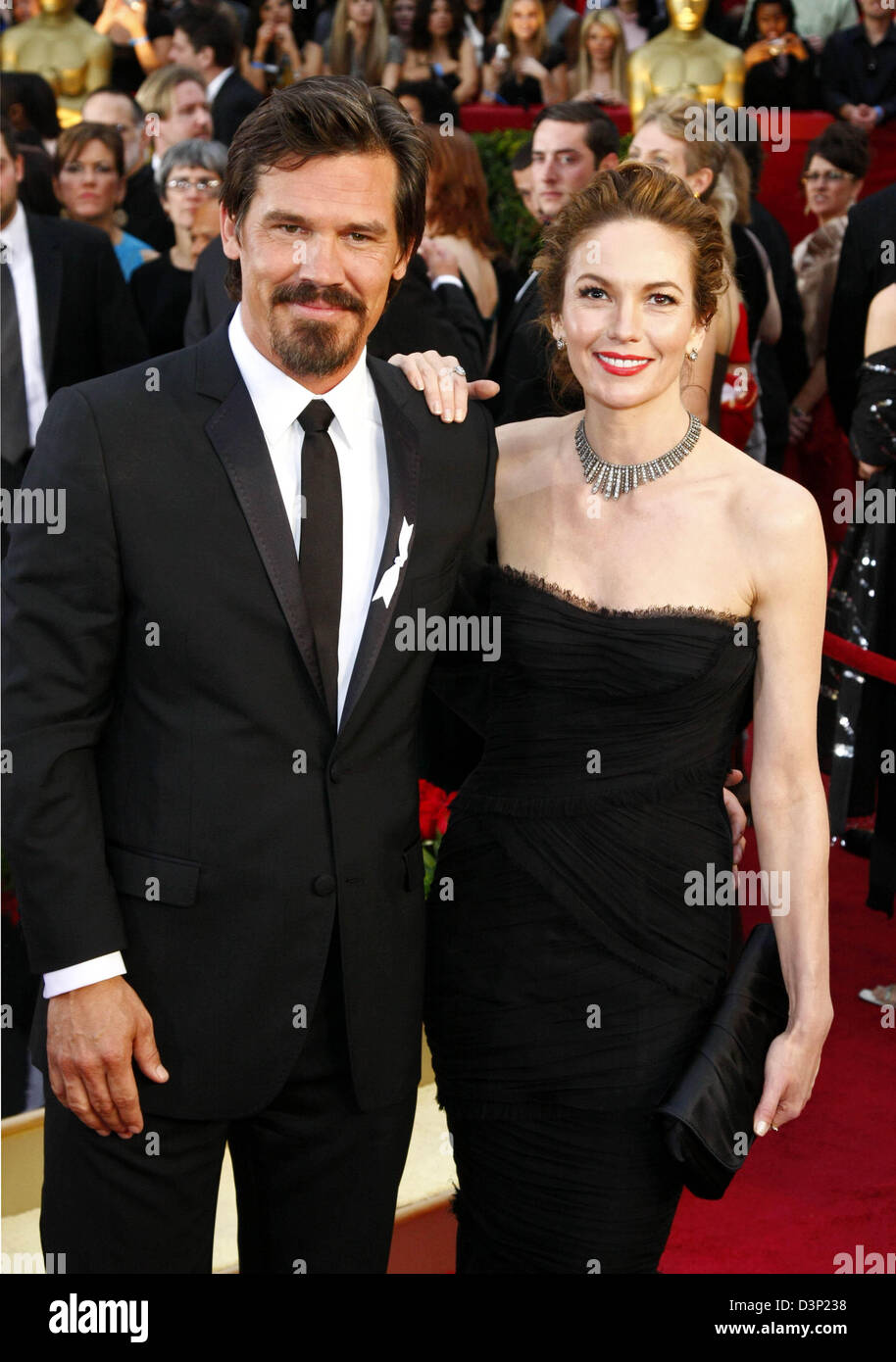 US actors Josh Brolin and his wife Diane Lane arrive on the red     US actors Josh Brolin and his wife Diane Lane arrive on the red carpet for  the
