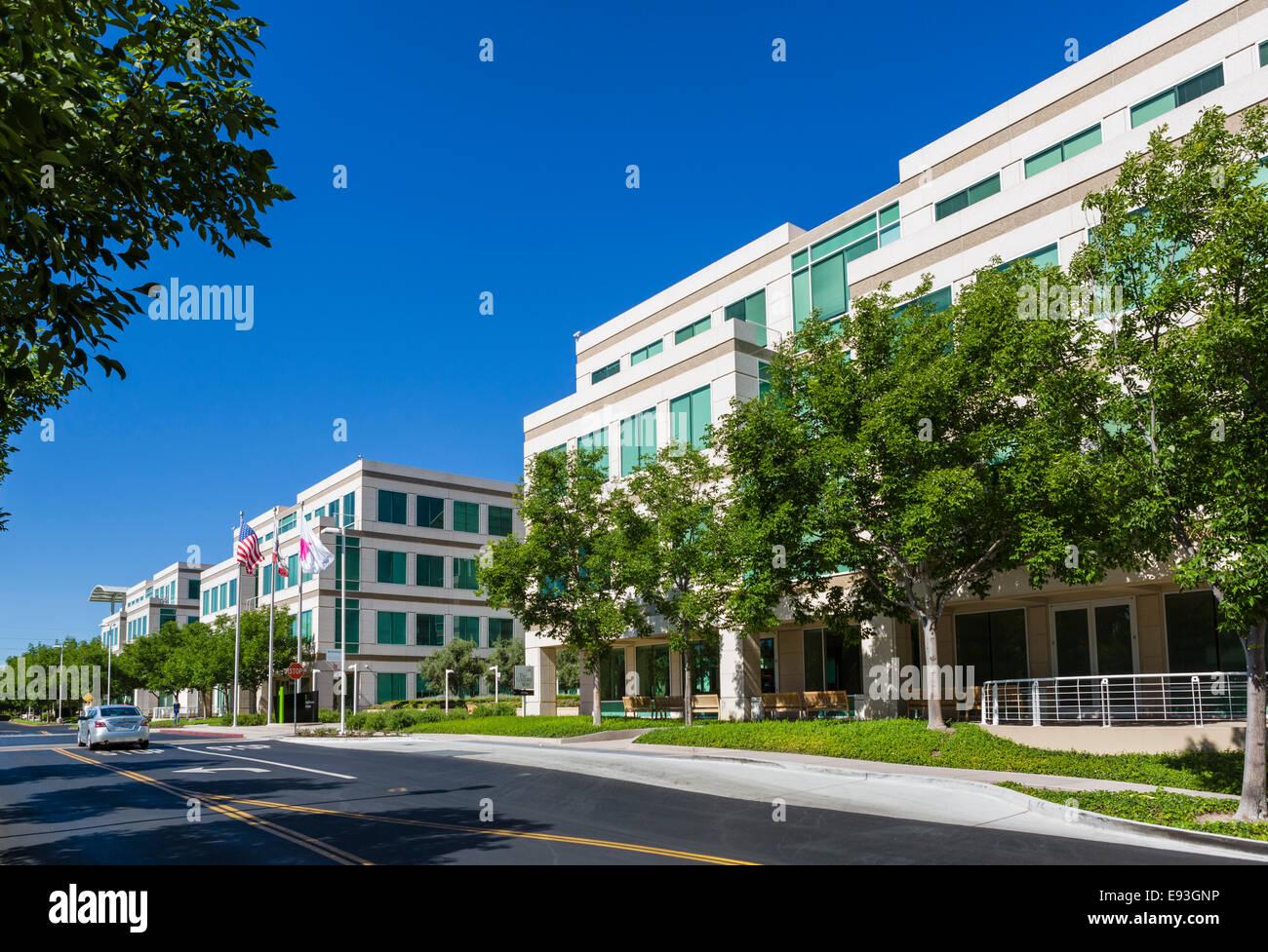 apple inc head office campus one infinite loop cupertino california usa r