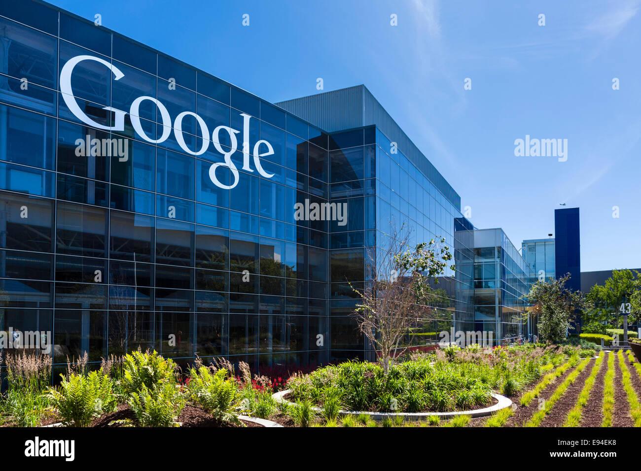 Google Main Office Location Head Campus Mountain View Californias Usa