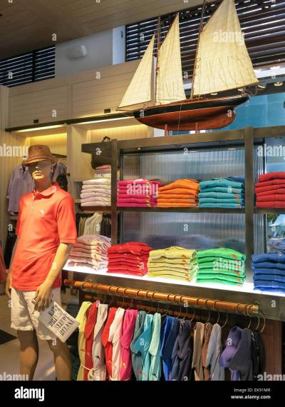 Island Lifestyle Display, Tommy Bahama Clothing Store, 5th ...