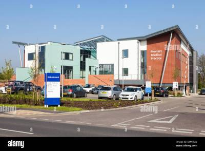Musters Medical Practice and Castle Healthcare Practice at Embankment Stock Photo: 81599189 - Alamy
