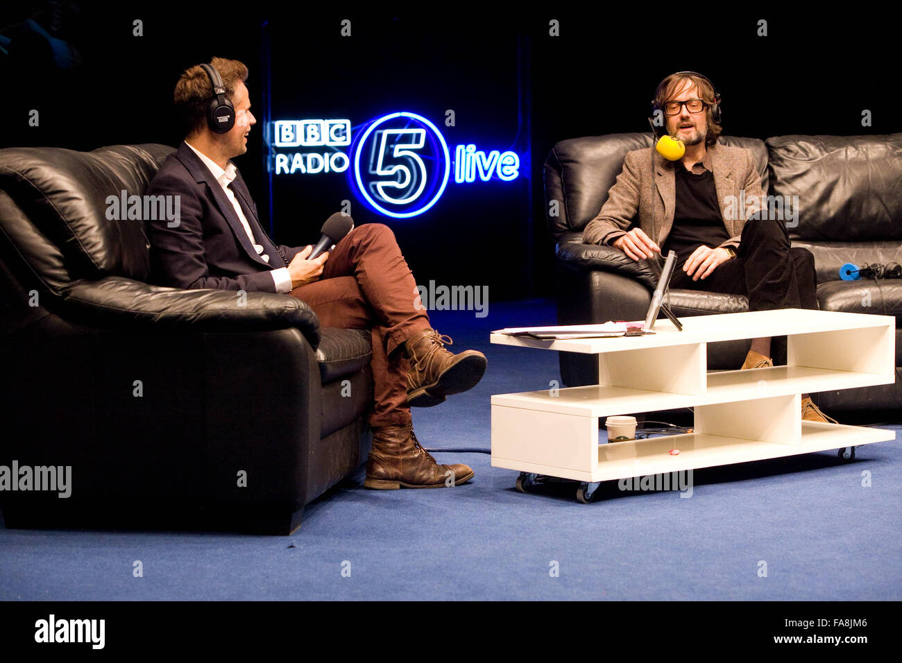 BBC Radio 5 Live Octoberfest in Sheffield Thursday 11 10 12 Richard     BBC Radio 5 Live Octoberfest in Sheffield Thursday 11 10 12 Richard Bacon  and Jarvis Cocker
