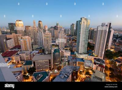 Makati City Skyline. Makati City is one of the most ...