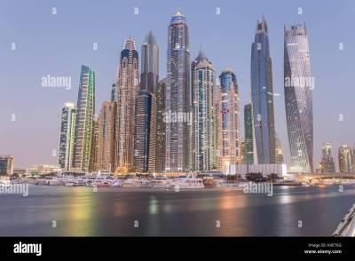 Dubai Marina Stock Photos & Dubai Marina Stock Images - Alamy