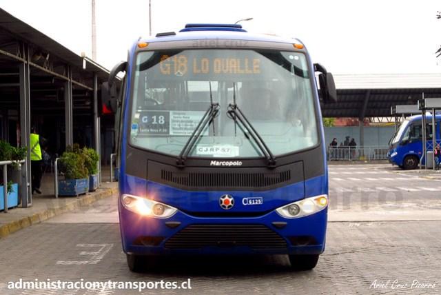 Transantiago G18 | Subus | Marcopolo Senior - Mercedes Benz / CJRP57