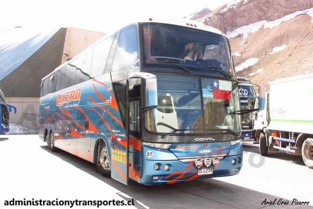 Lucero Internacional | Paso Los Libertadores | Comil Campione 4.05 HD - Scania / CLLZ24