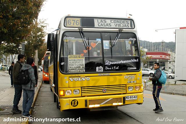 Micro Amarilla 676 | Marcopolo Torino - Volvo / NS8042