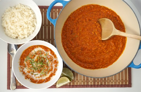 Red Lentil Curry | thelittleredspoon.com