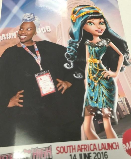IHero Girl Mattel, Mattel in South Africa
