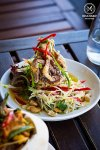 Soft Shell Crab Mango Salad, $22.90: Korn Thai, Crows Nest. Sydney Food Blog Review