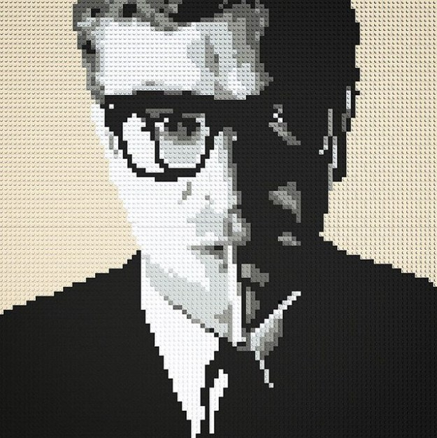LEGO Mosaic - Michael Caine