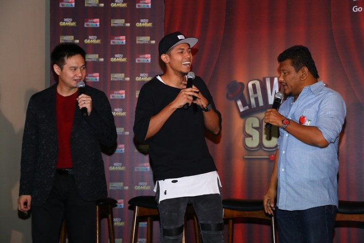 Nabil Ahmad, Douglas Lim dan Ebby Yus