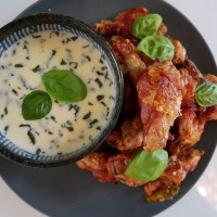 Recipe: San Daniele Wings with Grana Padano Sauce | #WingingIt