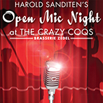 July 28: Harold Sanditen's Open Mic Night