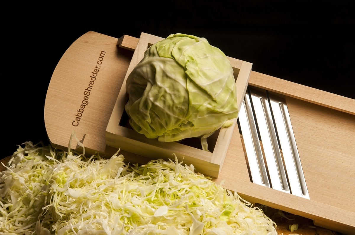 Fanciful Corned Beef How To Cut A Cabbage Slaw Large Cabbage Shredder Next To Pile Finely Sliced Cabbage How To Make Sauerkraut Using Cabbage Shredder How To Cut A Cabbage nice food How To Cut A Cabbage