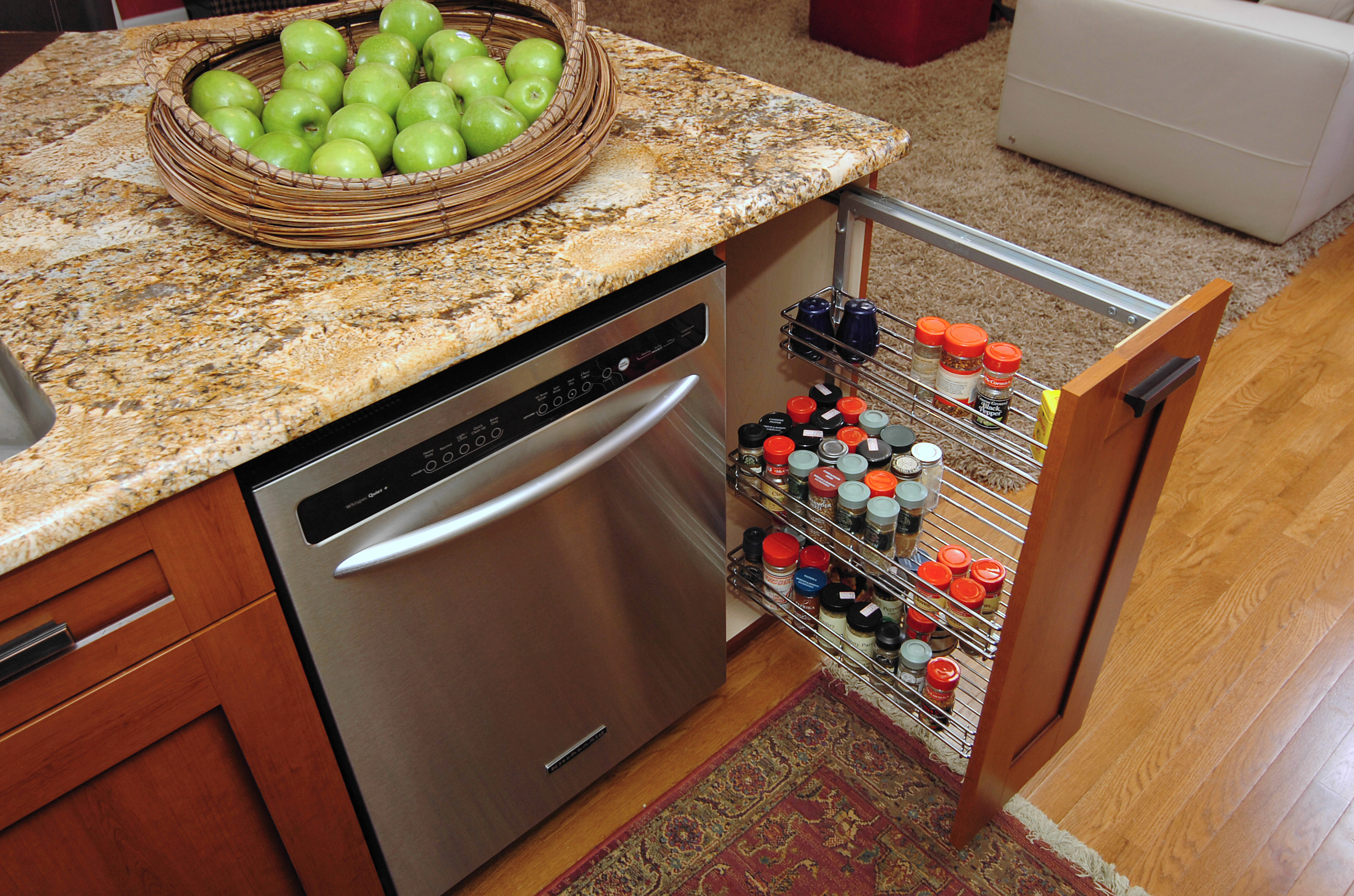 kitchen cabinets pull out spice rack by dishwasher pull out kitchen cabinet Previous Next kitchen cabinets pull out